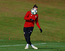 CARDIFF, WALES - Wednesday, November 14, 2018: Wales' Gareth Bale during a training session at the Vale Resort ahead of the UEFA Nations League Group Stage League B Group 4 match between Wales and Denmark. (Pic by David Rawcliffe/Propaganda)