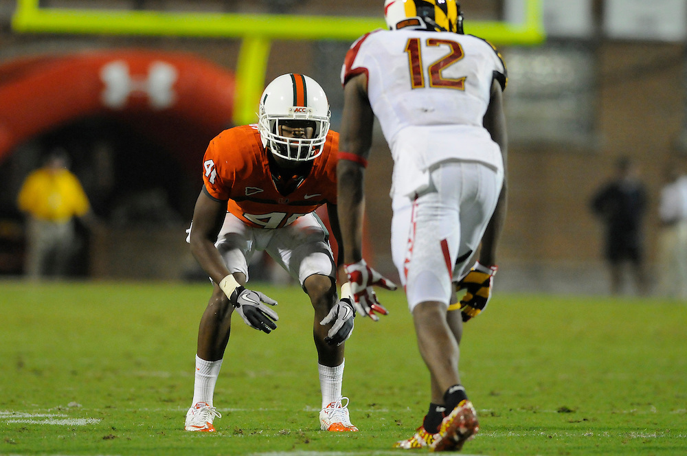 2011 Miami Hurricanes Football @ Maryland<br /> <br /> Mike Williams