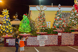 Frenchtown Civic Organization/French Heritage Museum presents its 3rd Annual Festival of Lights Christmas Tree Competition in Frenchtown.  St. Thomas, USVI.  11 December 2016.  © Aisha-Zakiya Boyd