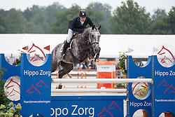 De Boer Lennard, (NED), Falco Rj<br /> Isah Cup 5 Jarige springpaarden <br /> KWPN Kampioenschappen Ermelo 2015<br /> © Hippo Foto - Dirk Caremans