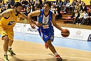 DESCRIZIONE : Torino Lega A 2015-16 Manital Torino - Betaland Capo d'Orlando<br /> GIOCATORE : Gianluca Basile<br /> CATEGORIA : Palleggio<br /> SQUADRA : Betaland Capo d'Orlando<br /> EVENTO : Campionato Lega A 2015-2016<br /> GARA : Manital Torino - Betaland Capo d'Orlando<br /> DATA : 22/11/2015<br /> SPORT : Pallacanestro<br /> AUTORE : Agenzia Ciamillo-Castoria/M.Matta<br /> Galleria : Lega Basket A 2015-16<br /> Fotonotizia: Torino Lega A 2015-16 Manital Torino - Betaland Capo d'Orlando