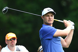 May 25, 2017 - Virginia Water, United Kingdom - Oliver Fisher of England.during 1st Round for the 2017 BMW PGA Championship on the west Course at Wentworth on May 25, 2017 in Virginia Water,England  (Credit Image: © Kieran Galvin/NurPhoto via ZUMA Press)