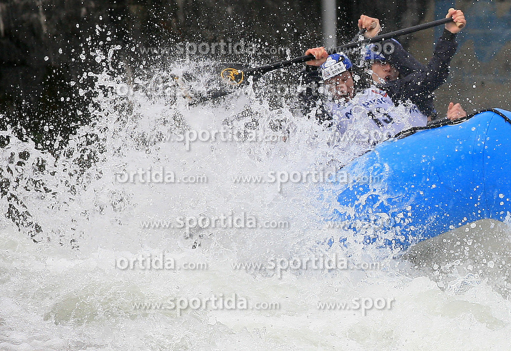 BVS Raft Team of Slovakia at Euro Cup 2009 R6 Rafting in TT & H2H and Slovenian National Championship 2009, on April 4, 2009, in Tacen, Ljubljana, Slovenia. (Photo by Vid Ponikvar / Sportida)