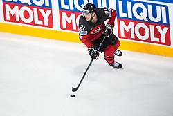 Brayden Point of Canada during the 2017 IIHF Men's World Championship group B Ice hockey match between National Teams of Canada and Finland, on May 16, 2017 in AccorHotels Arena in Paris, France. Photo by Vid Ponikvar / Sportida