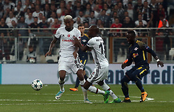 September 26, 2017 - Istanbul, Turkey - Naby Keita (L) of Leipzig with Atiba Hutchinson (C) and Anderson Talisca of Besiktas during Besiktas vs. Leipzig UEFA Champions League game at Vodafone Park, Istanbul, September 26th, 2017. (Credit Image: © Depo Photos via ZUMA Wire)