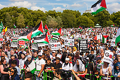 2014-08-09 Tens of Thousands march through London in support of Palestine