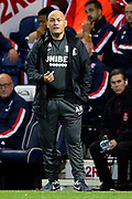 Preston North End Manager Alex Neil during the EFL Sky Bet Championship match between Preston North End and Stoke City at Deepdale, Preston, England on 21 August 2019.