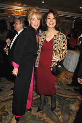 Left to right, ROSEMARY SAID and MARY SAID at the Chain of Hope Ball held at The Dorchester, Park Lane, London on 4th February 2008.<br />