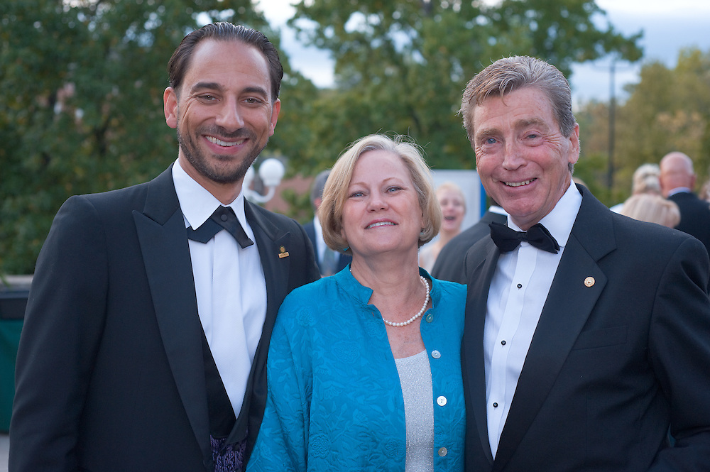 Homecoming 2008: Alumni Awards Gala 9/26/2008...Anne Wilkerson Starr, BSED '70, Thomas Starr, BBA '69