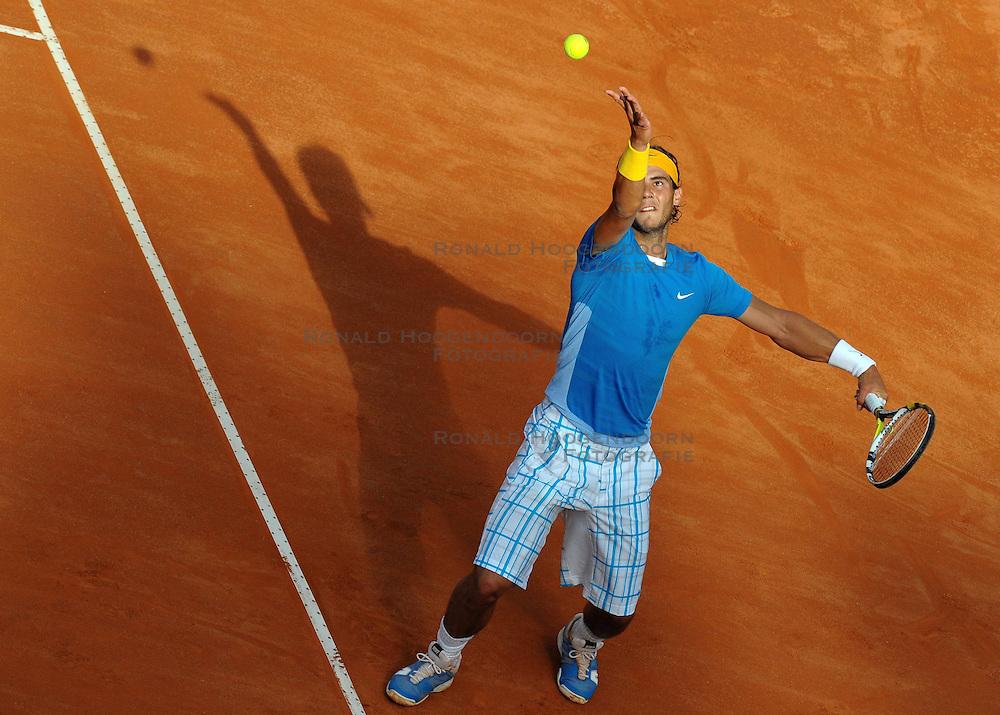 01-05-2010 TENNIS: ATP MASTERS: ROME<br /> Rafael Nadal (ESP)<br /> &copy;2010- FRH nph / A. Baldassarre
