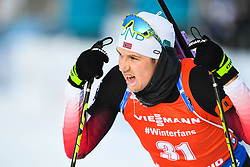 March 10, 2019 - –Stersund, Sweden - 190310 Vetle SjÃ¥stad Christiansen of Norway look dejected after the Men's 12,5 km Pursuit during the IBU World Championships Biathlon on March 10, 2019 in Östersund..Photo: Petter Arvidson / BILDBYRÃ…N / kod PA / 92255 (Credit Image: © Petter Arvidson/Bildbyran via ZUMA Press)