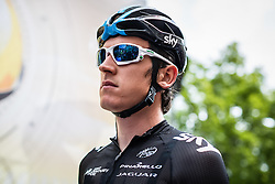 Ben Swift (GBR) of Team Sky, Tour de France, Stage 14: Grenoble / Risoul, UCI WorldTour, 2.UWT, Grenoble, France, 19th July 2014, Photo by BrakeThrough Media
