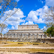 Chichen Itza # 9    Warriors temple at Chichen Itza. Yucatan, Mexico.