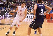 DESCRIZIONE : Milano Eurolega 2013/14 EA7 Olimpia Milano Efes Istanbul<br /> GIOCATORE : Alessandro Gentile<br /> CATEGORIA : palleggio<br /> SQUADRA : EA7 Olimpia MIlano<br /> EVENTO : Eurolega 2013/14<br /> GARA : EA7 Olimpia Milano Efes Istanbul<br /> DATA : 22/11/2013<br /> SPORT : Pallacanestro <br /> AUTORE : Agenzia Ciamillo-Castoria/R.Morgano<br /> Galleria : Eurolega 2013-2014  <br /> Fotonotizia : Milano Eurolega 2013/14 EA7 Olimpia Milano Efes Istanbul <br /> Predefinita :