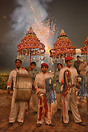 Band at Wedding,Bharatpur,Rajasthan,India,Asia
