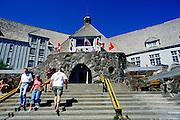 Image of Timberline Lodge on Mount Hood, Oregon, Pacific Northwest