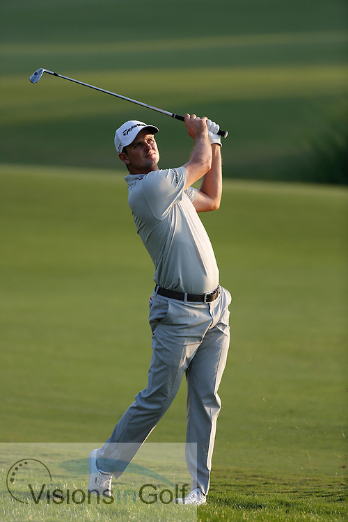 during the second round of the Race To Dubai DP World Tour Golf Championship, Dubai, UAE November  2013<br /> Picture Credit:  Mark Newcombe / www.visionsingolf.com