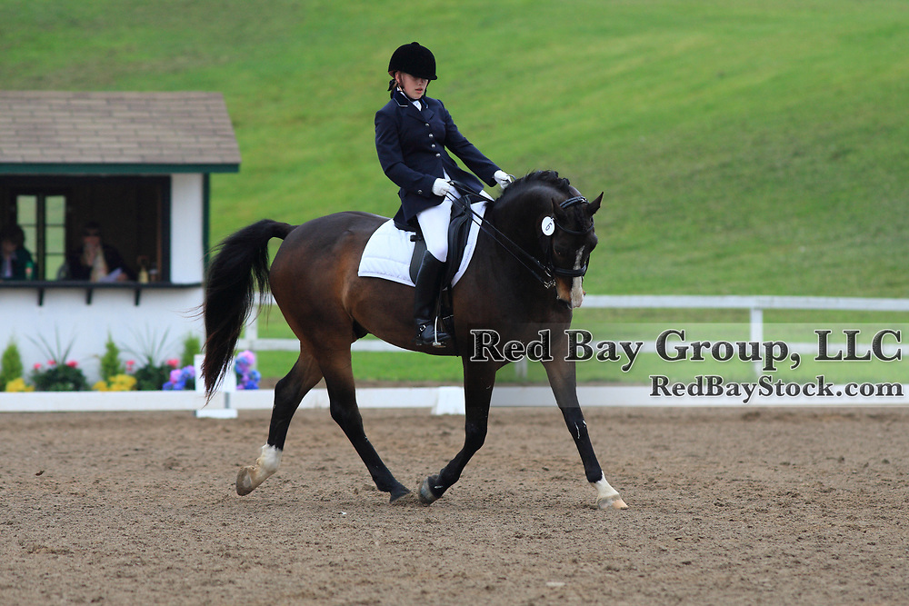 Kerry Houlahan and Fresco at the 2010 Equivents Spring Classic in Milton, Ontario.