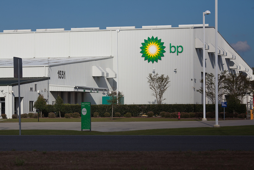 BP Operations Center near Houma Louisiana. Almost a year after the BP oil spill, the magnitude  of the damage to the Gulf of Mexico and the economic damage  to the region caused by the incident have yet to be determined.