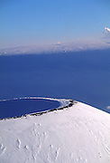 Mauna Kea with Mauna Loa in Background, Island of Hawaii<br />