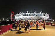 Olympic Park, Stratford, London, UK. August 09, 2012