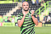 Forest Green Rovers Farrend Rawson(6) during the EFL Sky Bet League 2 match between Forest Green Rovers and Colchester United at the New Lawn, Forest Green, United Kingdom on 14 September 2019.