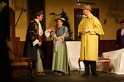 Pella, Iowa September 30,2014 -Central College Theater department presents, The Games A Foot at the Pella Opera House.  Photo by Dan L. Vander Beek for Central College