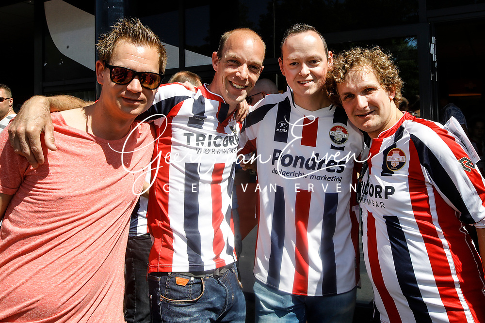Supporters of Willem II