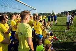Matjaz Kek, coach of HNK Rijeka at his visit of women team ZNK Radomlje, on September 1, 2016, in Sports park Radomlje, Slovenia. Photo by Vid Ponikvar / Sportida