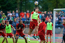 ROTTACH-EGERN, GERMANY - Friday, July 28, 2017: Liverpool's Marko Grujic during a training session at FC Rottach-Egern on day three of the preseason training camp in Germany. (Pic by David Rawcliffe/Propaganda)