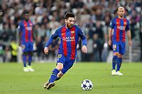 11.04.2017 - Torino  -  Quarti di finale  Champions League , Nella foto:  Lionel Messi