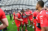 Joie Toulon - 19.04.2015 - Toulon / Leinster - 1/2Finale European Champions Cup -Marseille<br />