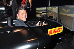 MARK WRIGHT at the F1 Party in aid of Great Ormond Street Hospital Children's Charity held at Battersea Evolution, Battersea Park, London on 4th July 2012.