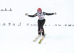 01.02.2019, Energie AG Skisprung Arena, Hinzenbach, AUT, FIS Weltcup Ski Sprung, Damen, Qualifikation, im Bild Daniela Iraschko-Stolz (AUT) // Daniela Iraschko-Stolz (AUT) during the woman's Qualification Jump of FIS Ski Jumping World Cup at the Energie AG Skisprung Arena in Hinzenbach, Austria on 2019/02/01. EXPA Pictures © 2019, PhotoCredit: EXPA/ Reinhard Eisenbauer