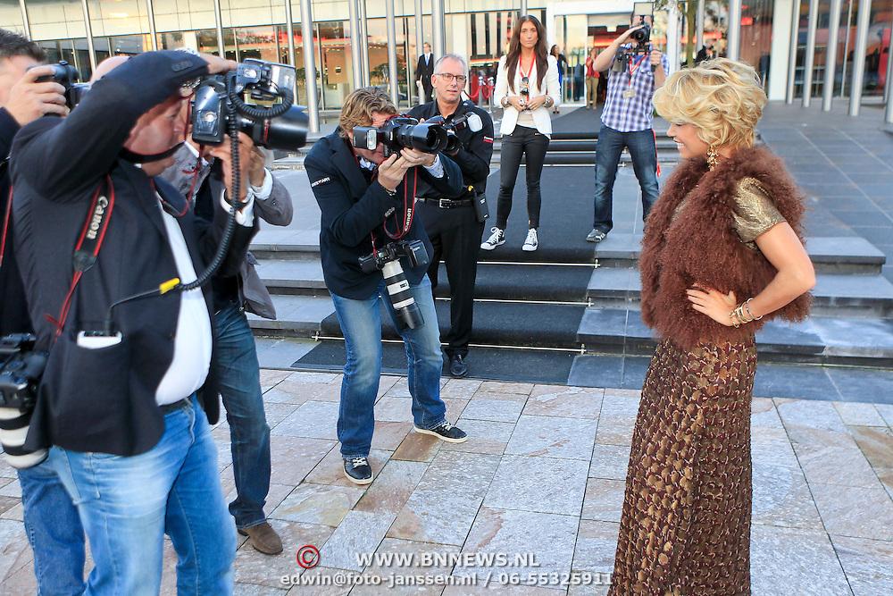 NLD/Vianen/20110915 - Modeshow Mix & Match Dani Bles 2011, Sylvie van der Vaart - Meis
