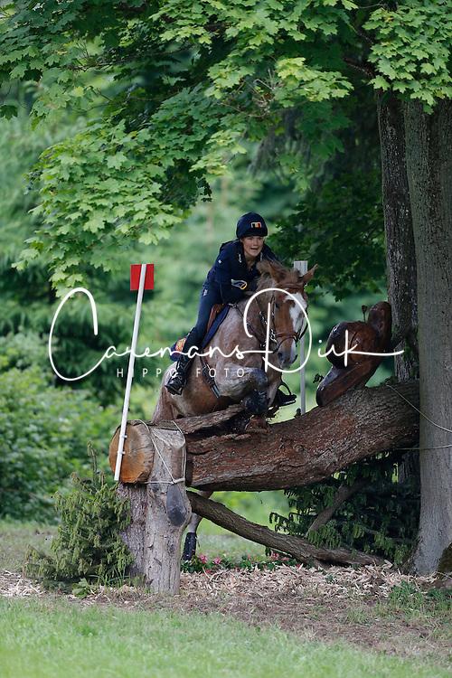 Gabriel Valentine (BEL) - Chopin van't Kattekwaad<br /> CIC 2* Arville 2013<br /> &copy; Dirk Caremans