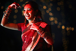 BANGLADESH CHITTAGONG 26JAN07 - Pakistani dancer performs on stage during the Gaya Holud ceremony of Petros Mendes in Chittagong, Bangladesh...jre/Photo by Jiri Rezac..© Jiri Rezac 2007..Contact: +44 (0) 7050 110 417.Mobile:  +44 (0) 7801 337 683.Office:  +44 (0) 20 8968 9635..Email:   jiri@jirirezac.com.Web:    www.jirirezac.com..© All images Jiri Rezac 2007 - All rights reserved.