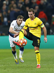 February 13, 2019 - London, England, United Kingdom - Mario Gotze of Borussia Dortmund.during Champion League Round of 16between Tottenham Hotspur and Borussia Dortmund at Wembley stadium , London, England on 13 Feb 2019. (Credit Image: © Action Foto Sport/NurPhoto via ZUMA Press)