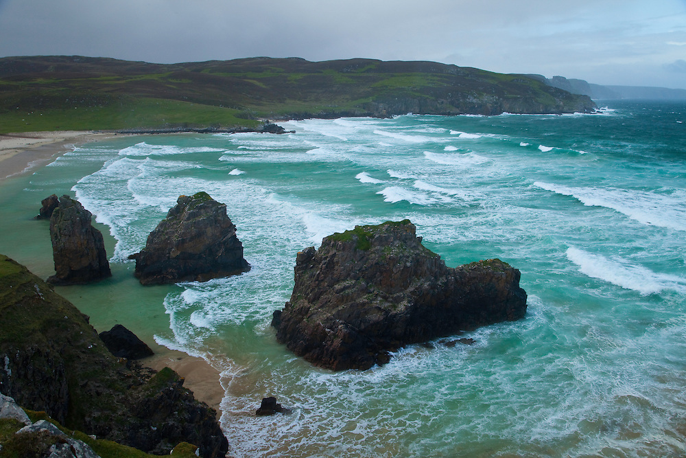 Tràigh Ghearadha Beach. Northeast Lewis Island. Outer Hebrides. Scotland, UK
