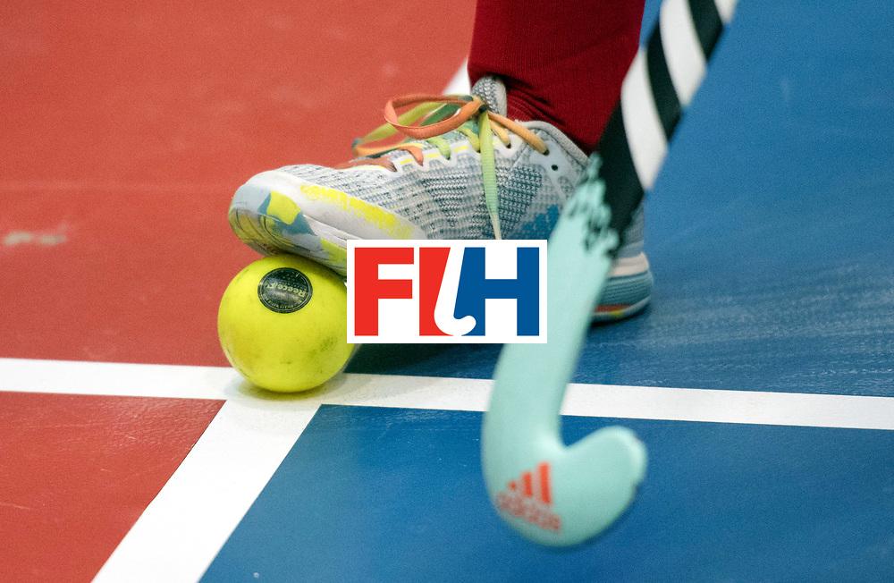 BERLIN - Indoor Hockey World Cup<br /> Switzerland - Poland<br /> foto: <br /> WORLDSPORTPICS COPYRIGHT FRANK UIJLENBROEK