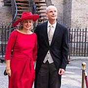 NLD/Den Haag/20180918 - Prinsjesdag 2018, Stef Blok en partner