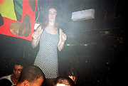 Girl Dancing, Dream FM Pirate Radio Benefit, Labyrinth Dalston, London, 1994.