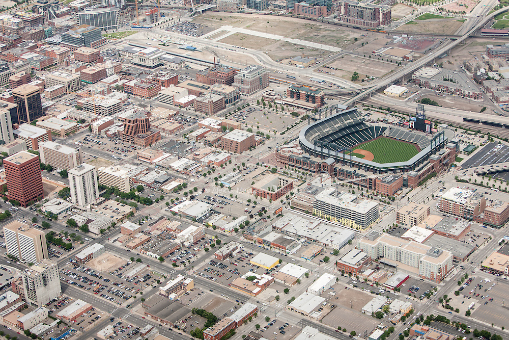 Lower downtown (LoDo) - Coors Field and surrounding neighborhood