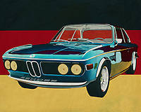 The BMW 3 CSI from 1971 is a typical German car. Solidly built with a powerful engine, this sports car is a symbol of German quality. BMW is a name like a clock in the automotive world and this BMW CSI from the 70's is often found in excellent quality.<br />