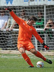 Jamie Mcalindon, Goalkeeper, Kettering Town, Kettering Town v Aylesbury Utd, Southern League, Burton Park, Kettering, 9th August 2014