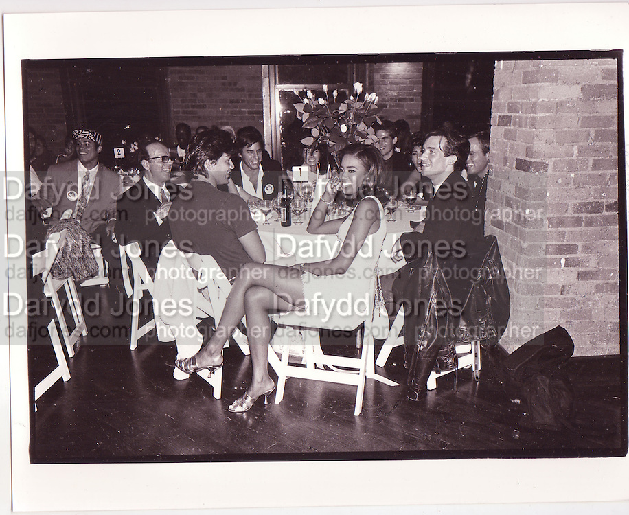 Naomi Campbell,at her birthday party New York 1990. , ONE TIME USE ONLY - DO NOT ARCHIVE  © Copyright Photograph by Dafydd Jones, Whydown Lodge, Sandhurst Lane, Bexhill-on-Sea. TN39 4RG. 07931 501268
