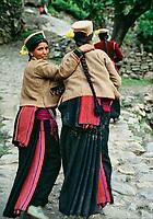 Inde - Province de l'Himachal Pradesh - Vallée du Kinnaur // India. Himachal Pradesh Province. kinnaur valley. Sarahan village.