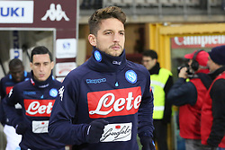 December 16, 2017 - Turin, Piedmont, Italy - Dries Mertens (SSC Napoli) before the Serie A football match between Torino FC and SSC Napoli at Olympic Grande Torino Stadium on 16 December, 2017 in Turin, Italy. SSC Napoli win 3-1 over Torino FC. (Credit Image: © Massimiliano Ferraro/NurPhoto via ZUMA Press)