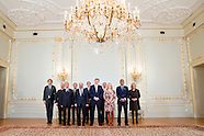 President of the European Parliament Martin Schulz met King William Alexander at Noordeinde Palace.