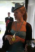 Lady Alexandra Gordon-Lennox, Glorious Goodwood. 31 July 2007.  -DO NOT ARCHIVE-© Copyright Photograph by Dafydd Jones. 248 Clapham Rd. London SW9 0PZ. Tel 0207 820 0771. www.dafjones.com.